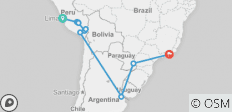 South America Revealed 2020 - 12 destinations