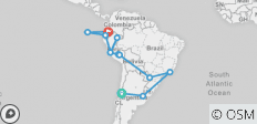 South American Adventure with Amazon Cruise & Galápagos - 13 destinations