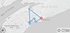 Halifax to Lunenburg by Rail Trail - 7 destinations