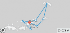 Med Sailing in British Virgin Islands (Private Charter) - 9 destinations
