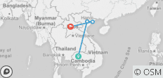 Golden Triangle of Indochina - Siem Reap/ Halong Bay/ Luang Prabang  - 4 destinations