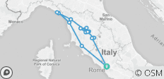 Tuscany Wine Trails & The Enchanting Cinque Terre - 15 destinations