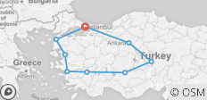 11 Days-10 Nights Grand Turkey Tour by Private Vehicle! - 9 destinations