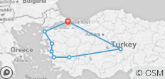 8 Days 7 Nights Magics of Turkey (Istanbul to Istanbul) - 8 destinations