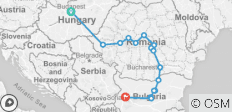 9 days from Budapest to Sofia through Magical Transylvania - 16 destinations