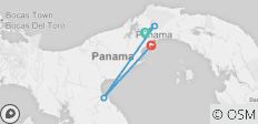 Discover Panama: The Land Between the Seas (Gamboa to Playa Bonita) - 4 destinations