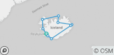 Iceland Explorer 10 Days - 10 destinations