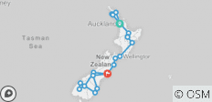 Ultimate New Zealand 2021/2022 - 20 destinations