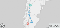 Patagonia – Route 40 & Carretera Austral - 6 destinations