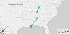 Southern Road Trip - 4 destinations