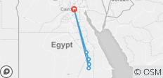 5 Star 8-Day Nile Jewel, Cairo & Nile Cruise (Domestic Flights) - 6 destinations