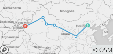 Best of Silk Road 10Days: Beijing, Xian, Dunhuang, Turpan, Urumqi and Kashgar - 6 destinations