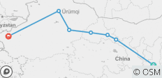 China Silk Road 10 Days: Xian, Zhangye, Jiayuguan, Dunhuang, Turpan, Urumqi, Kashgar, - 7 destinations