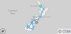 New Zealand Rail Adventure (2018) - 20 destinations