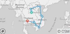 Indochina Discovery - 23 days - 15 destinations