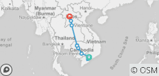 Indochina Express - 16 days - 13 destinations