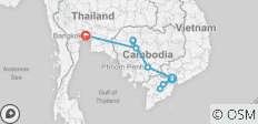 Saigon to Bangkok - 11 days - 10 destinations