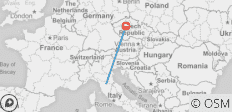 Florence To Prague - Round-trip  Transport Smart Pack - 2 destinations