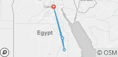 Cairo Visit & Nile Cruise Package from Luxor to Aswan 6 days 5 Nights - 4 destinations