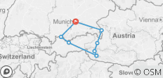 Best of Bavaria & Austrian Alps Road Trip from Munich - GPS Guided - 8 destinations