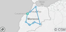 Morocco 9 Days Tour from Casablanca - 12 destinations