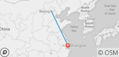 Beijing to Shanghai - 6 Days China Tour - 2 destinations