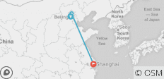 Beijing to Shanghai All Inclusive Tour - 3 destinations