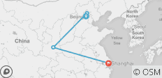 China Golden Triangle - 8 Days To Beijing - Xian - Shanghai - 4 destinations