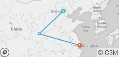 8 Days China Tour Beijing - Xian - Shanghai - 3 destinations