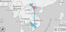 The Best of Cambodia and Vietnam 14 Days - 14 destinations