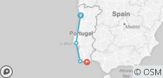 Portugal North and South - 4 destinations