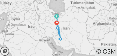 Glance of Persia (8 Days)  - 4 destinations