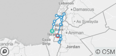Jewish Heritage Israel Tour Experience - 10 Days - 15 destinations