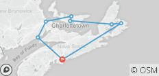 The Maritimes (2019) - 8 destinations