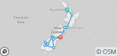 New Zealand Rail Adventure (2018) - 15 destinations