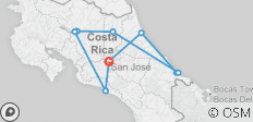 Costa Rica Family Escape - 9 destinations