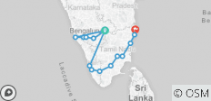 Southern India Odyssey 26 Days - 15 destinations
