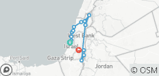 The Story of the Israeli State - 10 Days - 16 destinations