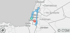Highlights of the Jewish State - 10 Days - 16 destinations