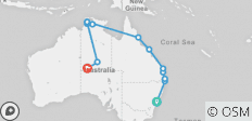 The Big Walkabout (Start Sydney) - 13 destinations