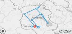 The melody of Armenia - 15 destinations
