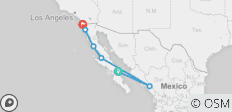 Baja Express (South to North) - 6 destinations