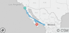 Baja Express ( North to South ) - 6 destinations