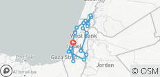Highlights of the Holy Land Best Experience - 8 Days - 24 destinations