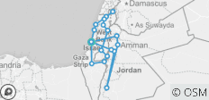 11 Days Highlights of Israel and Jordan - 19 destinations