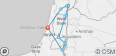 Heritage of the Holy Land - 9 destinations