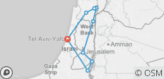Heritage of the Holy Land - 8 destinations