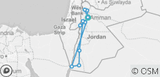 All around Jordan 11 Days  - 11 destinations