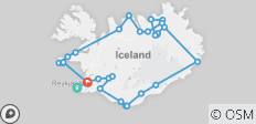 Natural Wonders of Iceland - 10 Days: Guided Small Group tour - 33 destinations