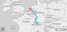 Rhine Highlights 2020 (Start Basel, End Amsterdam, 8 Days) - 10 destinations